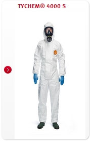 TYCHEM 4000S HOODED COVERALL