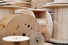 Timber Cable Drums