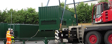 Containerised Generator Installation Solution