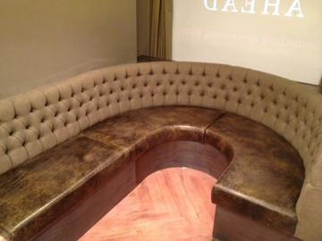 Curved Booth Seating Manufacturer