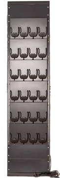 24 bay wall mount 19inch rack