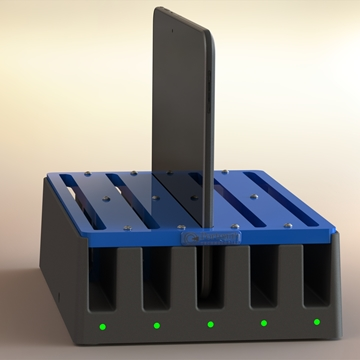 Multi-bay charger for Samsung Galaxy, Note or Tab
