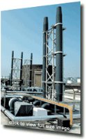 Fume Extract Plant and Fans