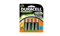 Duracell Rechargeable AANiMH 2450mAh Batteries - Pack of 4