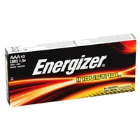 Energizer Industrial AAA/LR03 Batteries - Bx of 10