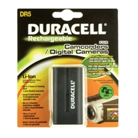 Duracell DR5, Rechargeable, Camcorder Battery