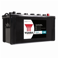 Yuasa 615HD -12V 135Ah 910A Cargo Heavy Duty Battery For trucks, agricultural and plant equipment and passenger service vehicles