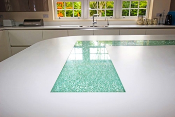 Coloured LamEX Crackle Glass
