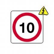 10 mph Signs
