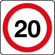 20 mph Signs