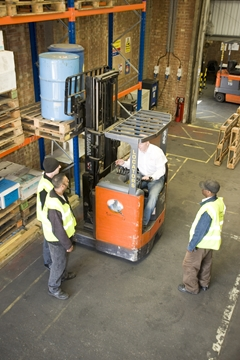 Forklift Training and ReCertification in Kent