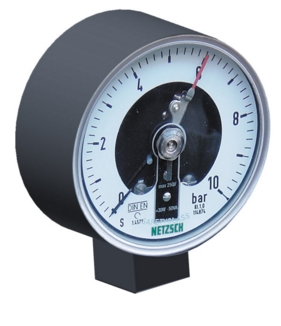 Contact manometer with diaphragm G3 / 4 inches