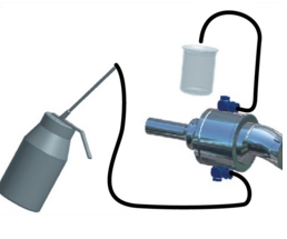 Filling device for K- and Z-joints