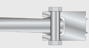 H Hygienic Pin Joint