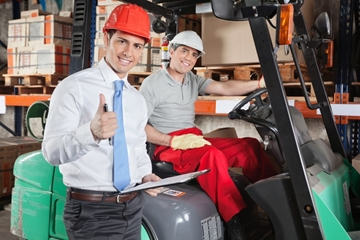 Accredited Forklift Instructor Training