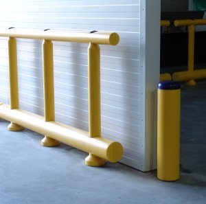 System of Bollards and Guardrails from Panelchok