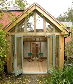 Oak Framed Garden Room Buildings