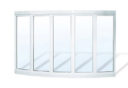 PVC Bow Window Units