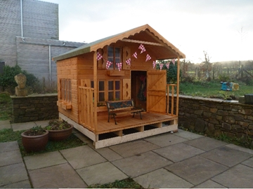 Alpine Wooden Playhouse North Wales