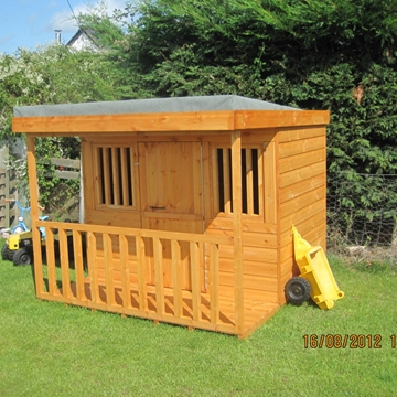 Jailhouse Wooden Playhouse In Anglesey