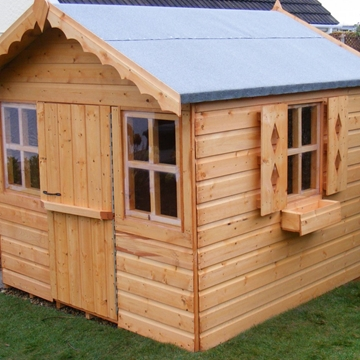 Stationhouse Wooden Playhouses In Flintshire