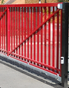 Automated school security gates in Hampshire