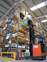 Wide Aisle Pallet Racking System