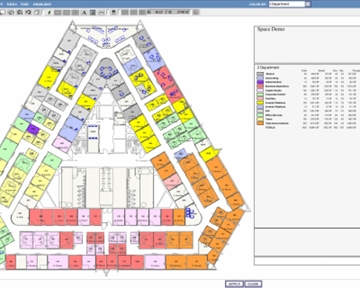 CenterStone CAFM Space Planning and Management