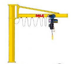 Donati GBA Overbraced H overbraced version Free Standing Jib Cranes up to 2,000 kg capacity