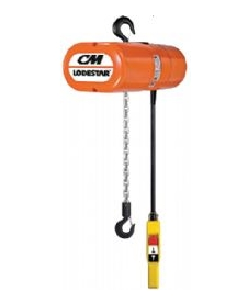 CM Lodestar Electric Chain Hoists 250 kg to 3000 kg - 110/220/400V