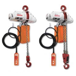 Delta Electric chain hoists 250, 500 kg and 1000 kgs 110V/240V