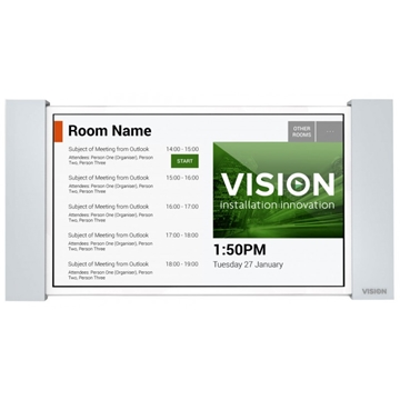 Vision FreeSpace Room Booking Screen