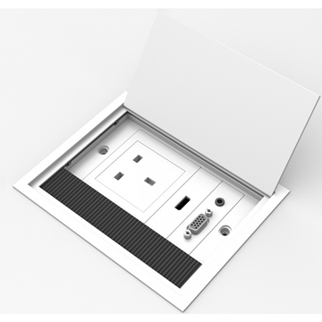 Vision Techconnect TILT2 Table Plug-in Style UK Faceplate Package
