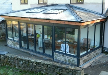 Bespoke Conservatory Glazing Services in Powys