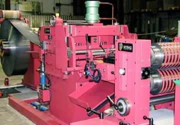 Customised Slitting Line with Sliptech Drum