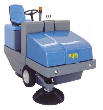 Isal PB120 Ride on Sweeper