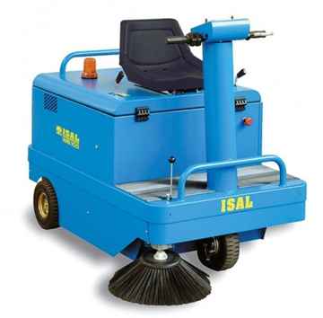 Isal WB105 Ride On Sweeper