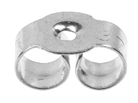 Sterling Silver Scrolls, 112, Pack of 20 - Sterling Silver Findings