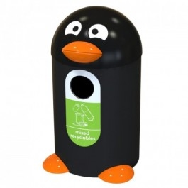 Penguin Buddy Recycling Bin