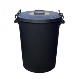 Black Garden Waste and Dustbin (110 Ltr)