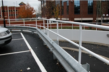 High Galvanised Armco Safety Barriers
