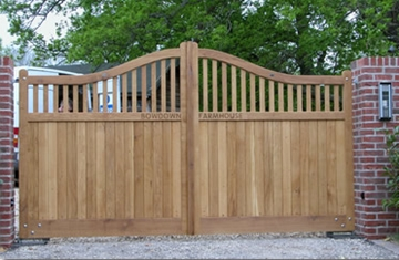 Domestic Wooden Gate Installation
