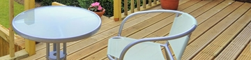 Solid Timber Decking Boards