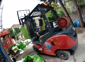 LPG Tailift Forklift Hire