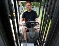 Forklift Hire With Driver