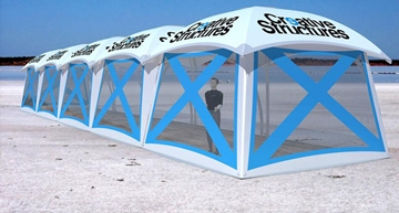 5x5m Lounger Dome Tent