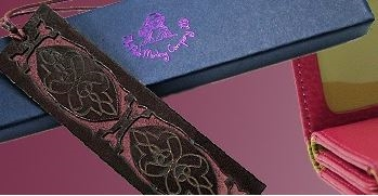 Leather Bookmarks - Quotes