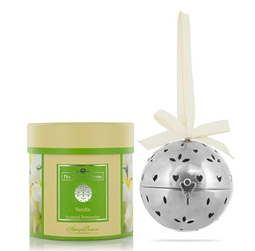 The Scented Home Scented Metal Pomander - Vanilla