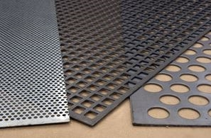 punched plates in mild & stainless steels