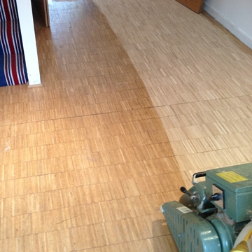 Solid Wood Flooring Sanding Services
